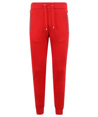 Balmain UH15632I339 EMBOSSED LOGO Trousers