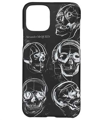 Alexander McQueen 632245 H3400 PAINTED SKULL iPhone X/11 PRO cover