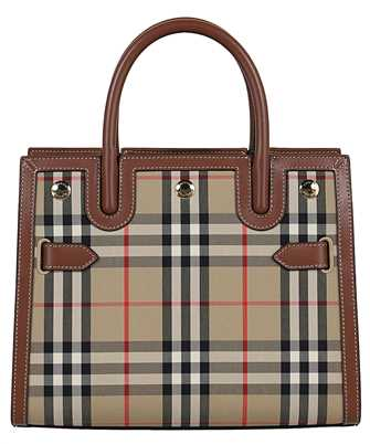 Burberry 8025267 MINI VINTAGE CHECK TWO-HANDLE TITLE Bag