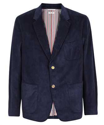 Thom Browne MJC329A 07471 ELBOW PATCH SACK SPORT FIT 2 CORDUROY Jacket