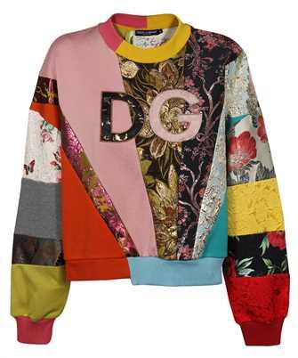 Dolce & Gabbana F9I83Z G7YON PATCHWORK DG EMBROIDERY Sweatshirt