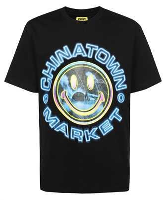 Chinatown Market 1990558 SMILEY VAPOR WAVE T-shirt