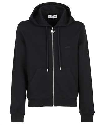 Lanvin RM HO0006 J008 A21 EMBROIDERED ZIPPED Hoodie