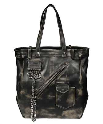 Dsquared2 SPM0027 04603447 DISTRESSED LEATHER SHOPPING Bag