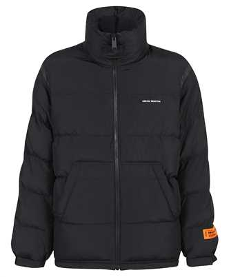 Heron Preston HMED008F21FAB001 LABEL NYLON PUFFER Jacket