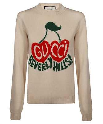 Gucci 629127 XKBHI CHERRY INTARSIA Knit