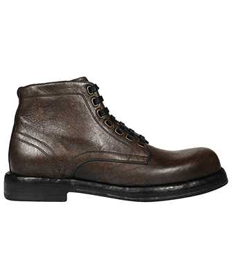 Dolce & Gabbana A60306 AW352 HORSEHIDE ANKLE Boots