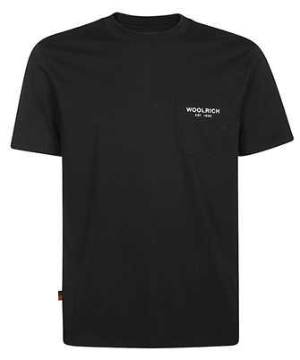 Woolrich CFWOTE0037MR UT1486 POCKET T-shirt