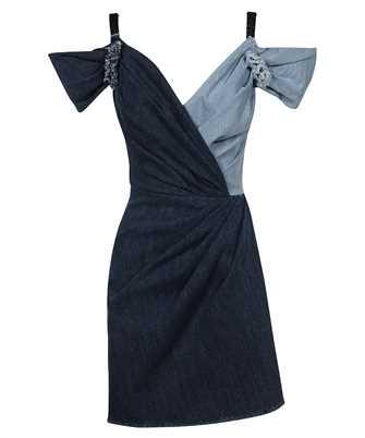 Dolce & Gabbana F6N0ND G900Q SHORT PATCHWORK DENIM Dress