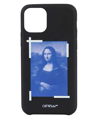 Off-White OMPA018R21PLA002 BLUE MONA LISA iPhone 11 PRO cover