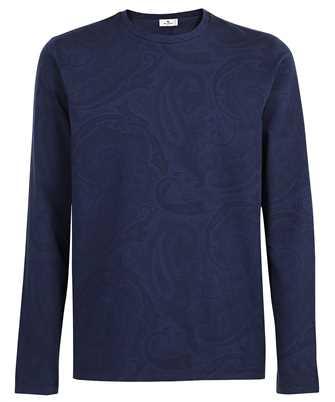 Etro 1Y094 9670 PAISLEY PRINT REGULAR T-shirt