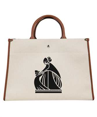 Lanvin LW BGTC00 CALA A21 PRINTED CANVAS IN&OUT Bag