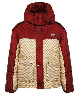 Gucci 663279 ZAHB8 GG PARACHUTE NYLON PADDED Jacket