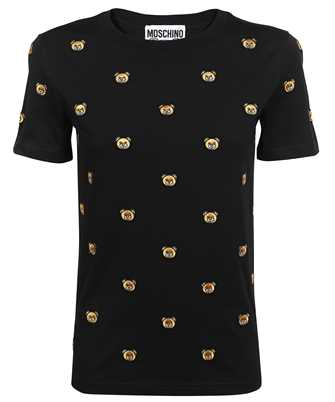 Moschino A 0704 5540 TEDDY EMBROIDERY JERSEY T-shirt