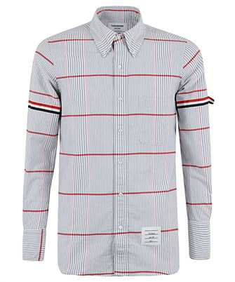 Thom Browne MWL301A 06837 CHECK STRAIGHT FIT Shirt