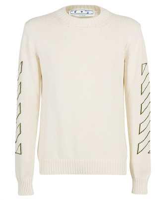 Off-White OMHE087F21KNI001 ARROW DIAG OUTLINE Knit