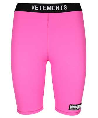 Vetements WA52TR210P LOGO CYCLING Shorts