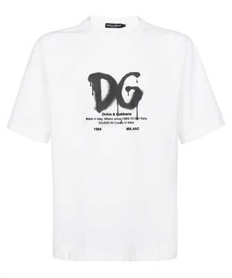 Dolce & Gabbana G8NG3T FUGK4 D&G PRINT T-shirt