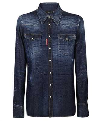 Dsquared2 S75DL0735 S30341 CRYSTAL WESTERN Shirt