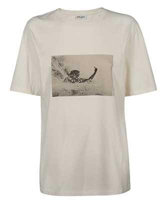 Saint Laurent 646198 Y36AF PRINTED T-shirt