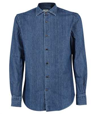 Etro 1K366 9600 COTTON DENIM Shirt