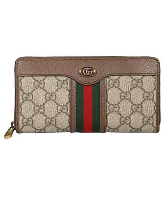 Gucci 597612 96IWT OPHIDIA GG Wallet