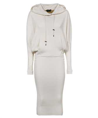 Tom Ford ACK182 YAX179 STRETCH CASHMERE RIB HOODED Dress