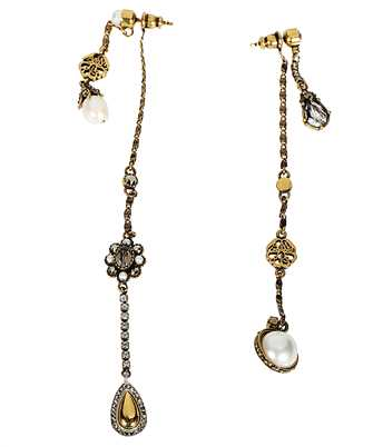 Alexander McQueen 607115 J160T SIGNATURE Earrings