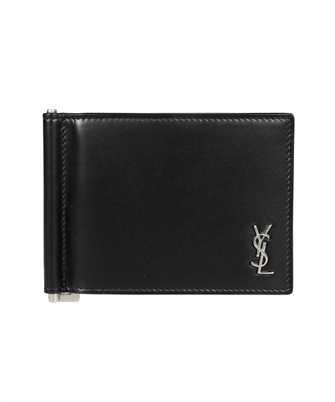 Saint Laurent 607738 1JB0E TINY MONOGRAM BILL CLIP Wallet