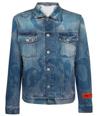 Heron Preston HMYE008F21DEN003 DENIM CAMOU REGULAR Jacket