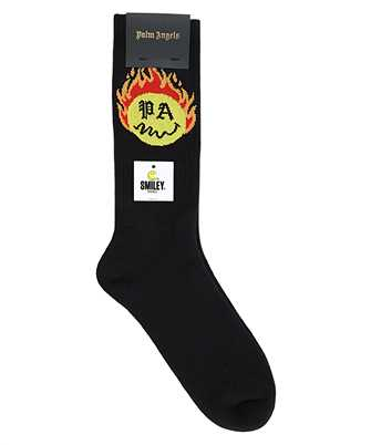Palm Angels PMRA001R21FAB002 BURNING HEAD Socken