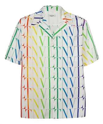 Valentino VV3AAA906G5 VLTN TIMES LOGO PRINT Shirt