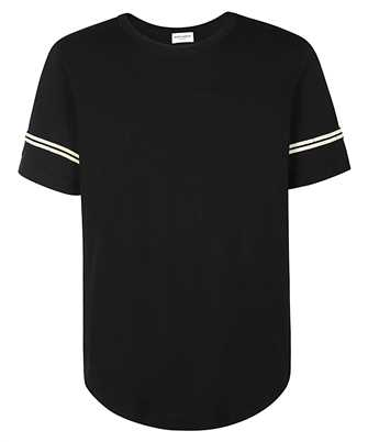 Saint Laurent 624992 YBUW2 '50s SIGNATURE DESTROYED T-shirt