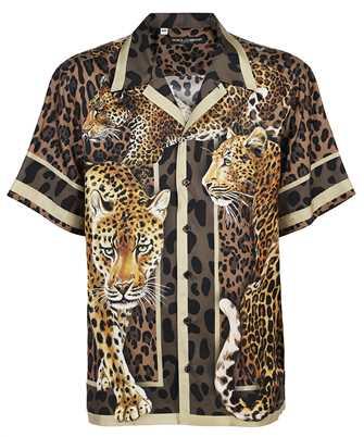 Dolce & Gabbana G5FX9T FI15U SILK HAWAIIAN Shirt