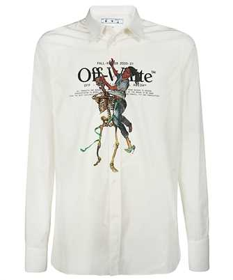 Off-White OMGA138F20FAB002 PASCAL SKELETON Shirt