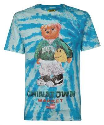 Chinatown Market 1990446 SMILEY SKETCH BASKETBALL BEAR T-shirt