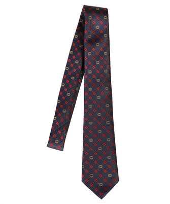 Gucci 658242 4E002 INTERLOCKING G Tie
