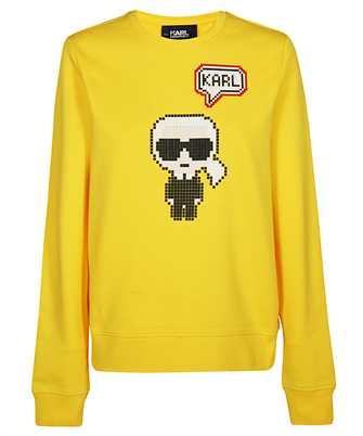 Karl Lagerfeld 201W1821 KARL PIXEL Sweatshirt