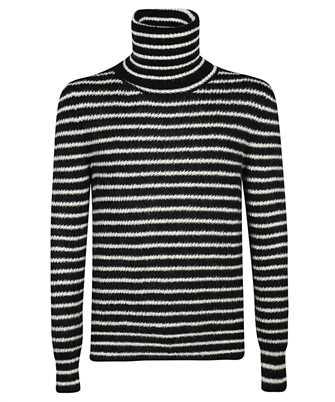 Saint Laurent 633156 YARX2 STRIPED TURTLENECK Knit