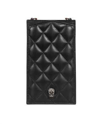 Alexander McQueen 647292 14A67 PAVE SKULL Phone cover