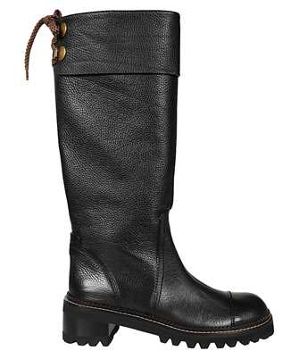See By Chloè SB35062A 12110 LEATHER Boots