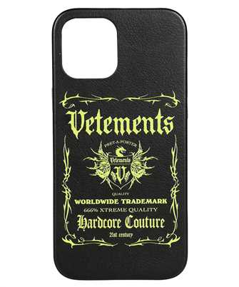 Vetements UA52SA300X BLACK LABEL iPhone 12 PRO MAX cover
