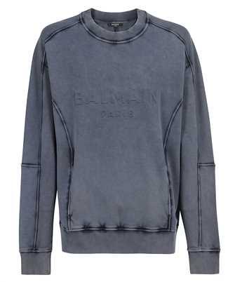 Balmain VH0JS010B003 WASHED Sweatshirt