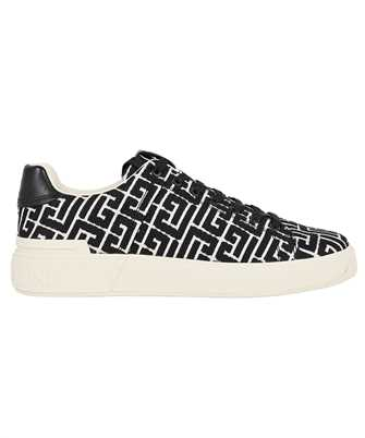 Balmain WM1VI244TJMS MONOGRAM JACQUARD B-COURT Sneakers