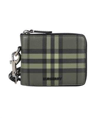 Burberry 8042491 CHECK PRINT LEATHER ZIPAROUND Wallet