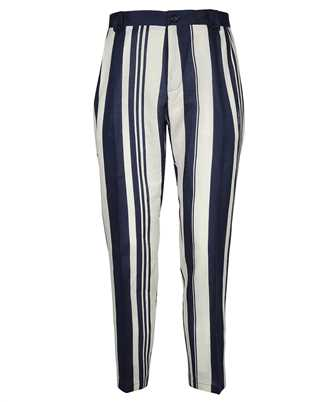 Dolce & Gabbana GW81AT FS4G0 STRIPED-PRINT LINEN Trousers