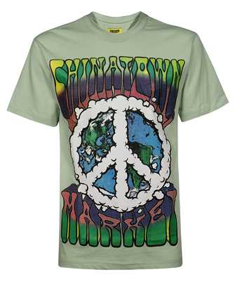 Chinatown Market 1990542 PEACE ON EARTH CLOUDS T-shirt