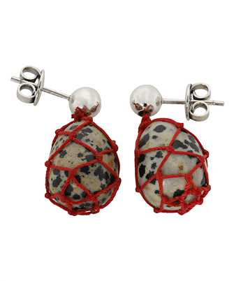 Bottega Veneta 649284 VE3F1 DALMATIAN PENDANT Earrings