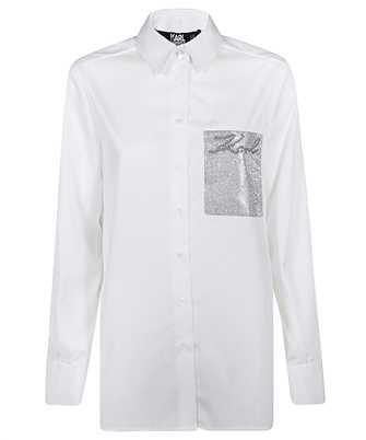 Karl Lagerfeld 206W1606 LOGO POCKET Hemd