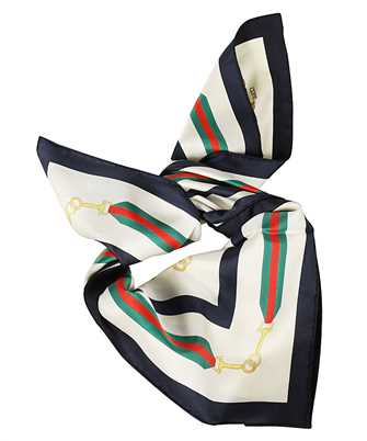 Gucci 626781 3G001 INTERLOCKING G HORSEBIT Scarf
